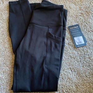 brand new 90 degree black leggings